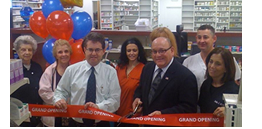 Hamilton Township Mayor John F. Bencivengo cuts the ribbon at our new location.