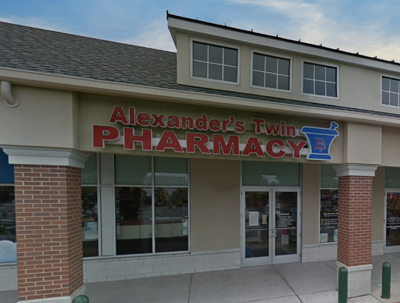 Alexander's Twin Pharmacy Storefront